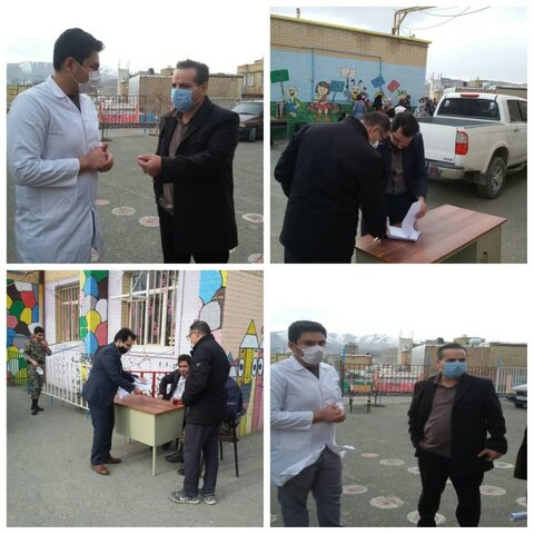ویزیت رایگان گروه جهادی شهید رهنمون از مددجویان و مراجعین واحدهای تحت نظارت سازمان بهزیستی