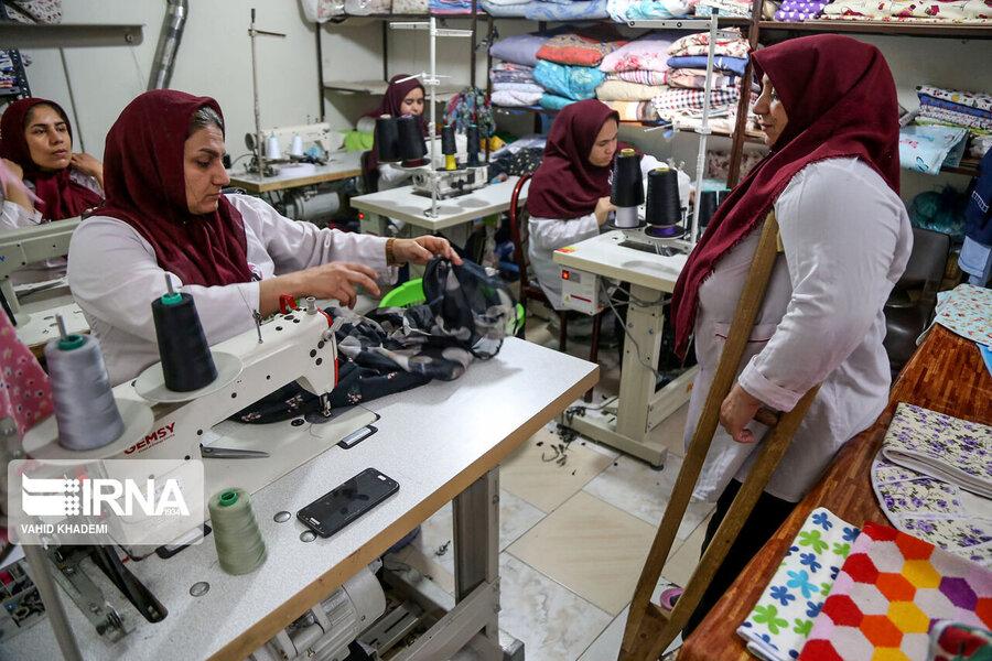 هزار و ۸۱۷ مددجوی بهزیستی استان همدان مشغول به کار شدند