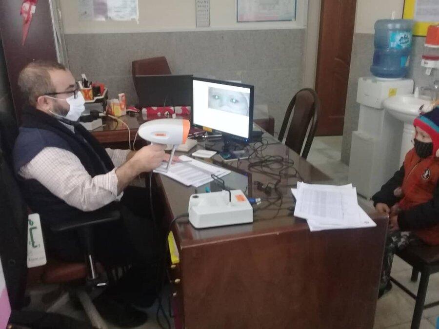 ورامین|روند ادامه دار غربالگری بینایی کودکان سه تا شش سال