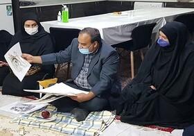 شاهین شهر و میمه  بازدید مدیر کل بهزیستی استان اصفهان از خانه های کودک و نوجوان شهرستان