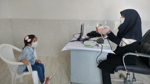 بوئین میاندشت  بهره مندی 900 کودک از طرح غربالگری بینایی سنجی
