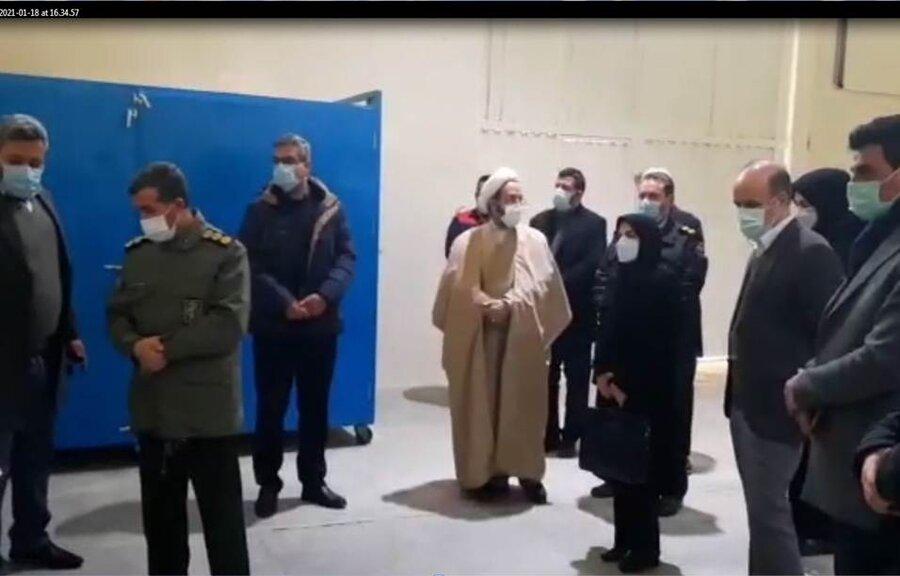 فیلم| بازدید از مرکز جامع درمان و بازتوانی حامی استان