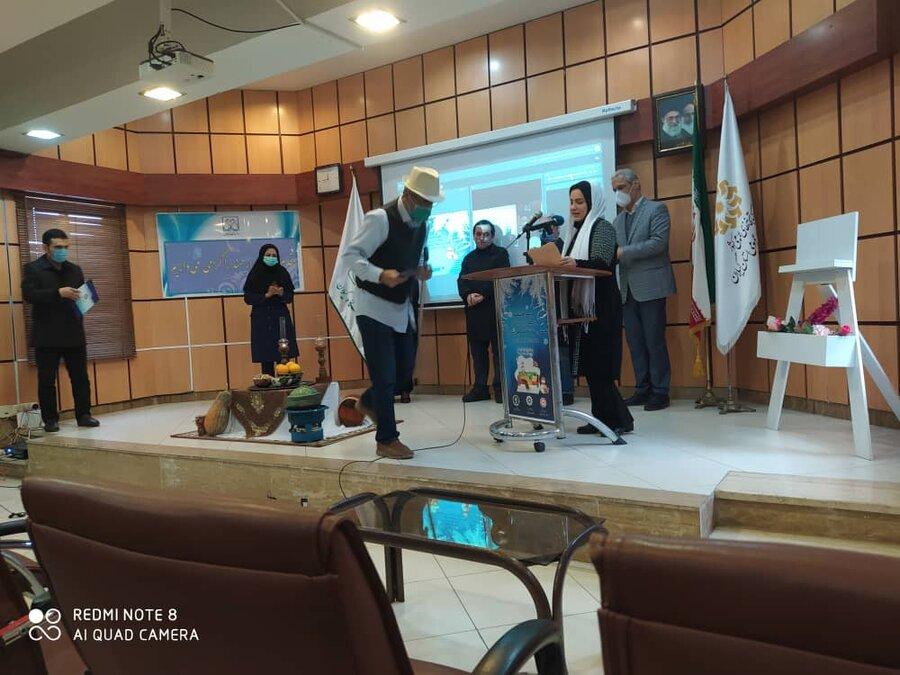 برگزاری مراسم اختتامیه نخستین مسابقه قصه گویی شب چله در رشت