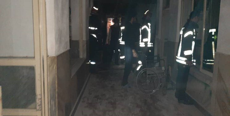 آتشسوزی سالمندان رشت بهخیر گذشت / حال همه مددجویان خوب است
