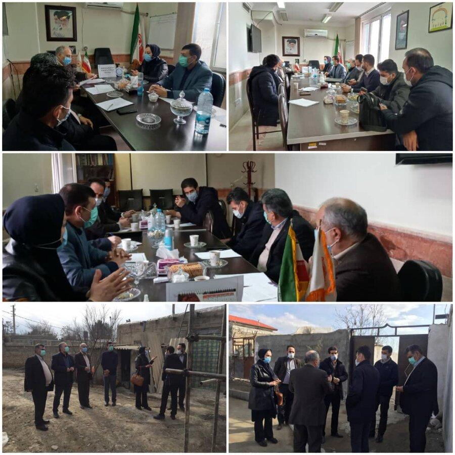 نظرآباد | برگزاری کمیته ی راهبری تأمین مسکن