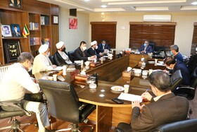 برگزاری جلسه شورای امر به معروف و نهی از منکر بهزیستی استان یزد با حضور حجت الاسلام والمسلمین صانعی