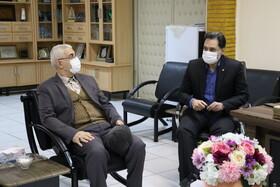 نشست مدیرکل بهزیستی گیلان با مدیرعامل موسسه الهه نور رشت