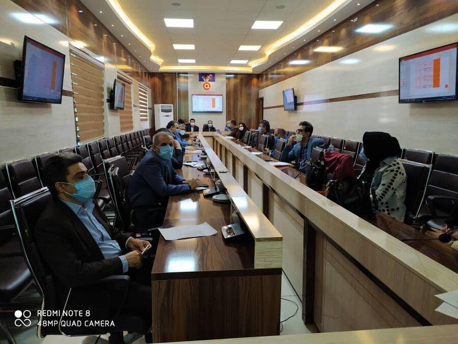 با حضورمدیرکل امور اجتماعی استانداری خراسان شمالی ومدیر کل بهزیستی واعضا برگزار شد: دومین جلسه ستاد ساماندهی کودکان کار و خیابانی