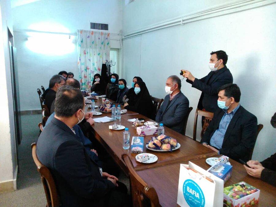 بازدید نمایندهی کمیساریای عالی سازمان ملل در امور پناهندگان از مرکز نگهداری کودکان کار و خیابان در مشهد