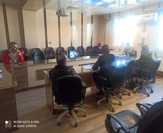 برگزاری جلسه کنترل و کاهش آسیب های اجتماعی در شهرستان کامیاران