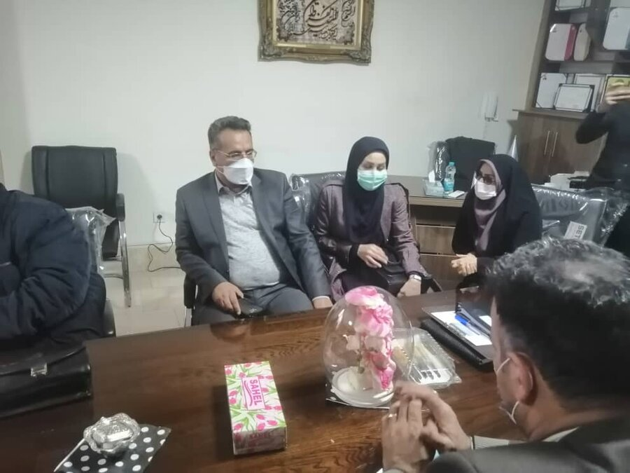 دیدار رئیس مرکز مدیریت بیماری های وزارت بهداشت از مرکز نگهداری معتادین متجاهر