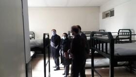 بازدید مدیر کل بهزیستی آذربایجان غربی از از مراکز سرپناه شبانه و کاهش آسیب استان