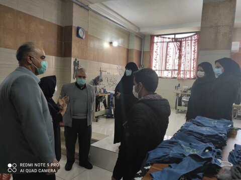 مسئولین بهزیستی استان تهران از مراکز شهرستان بازدید کردند