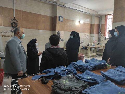 گزارش تصویری|مسئولین بهزیستی استان تهران از مراکز شهرستان بازدید کردند