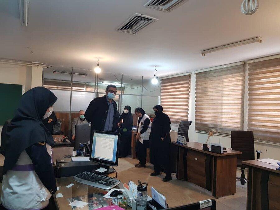 بازدید معاون اجتماعی بهزیستی استان از مراکز بهزیستی ری