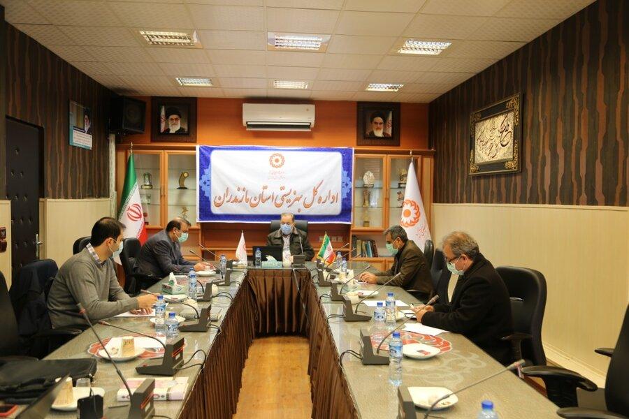 جلسه ستاد مدیریت بحران اداره کل بهزیستی مازندران برگزار شد