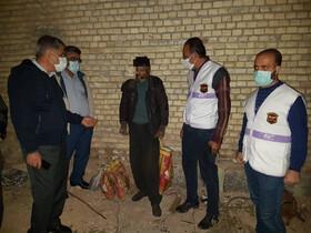 گزارش تصویری|بازدید مدیر کل و معاونین بهزیستی خوزستان از روند خدمات رسانی به افراد بی سرپناه در معرض آسیب  و سرمازدگی