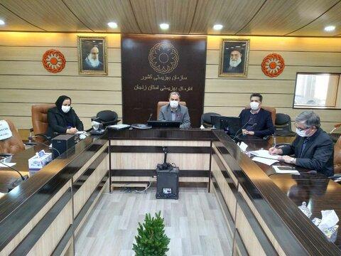 گزارش تصویری | دومین جلسه کمیته  مدیریت بحران  بهزیستی با حضور مدیرکل بهزیستی استان زنجان  و اعضای کمیته برگزارشد .