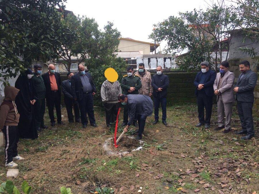چالوس |کلنگ احداث دومین واحد مسکن مددجویان بهزیستی شهرستان چالوس بر زمین زده شد