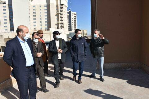 بازدید معاون توسعه مدیریت و منابع سازمان بهزیستی و سمیعی، معاون ذیحساب این سازمان از هتل تراز معلولان و مراکز مثبت زندگی مشهد
