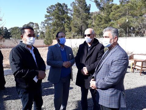 گزارش تصویری ا بازدید مدیرکل از مرکز جامع درمان اعتیاد استان