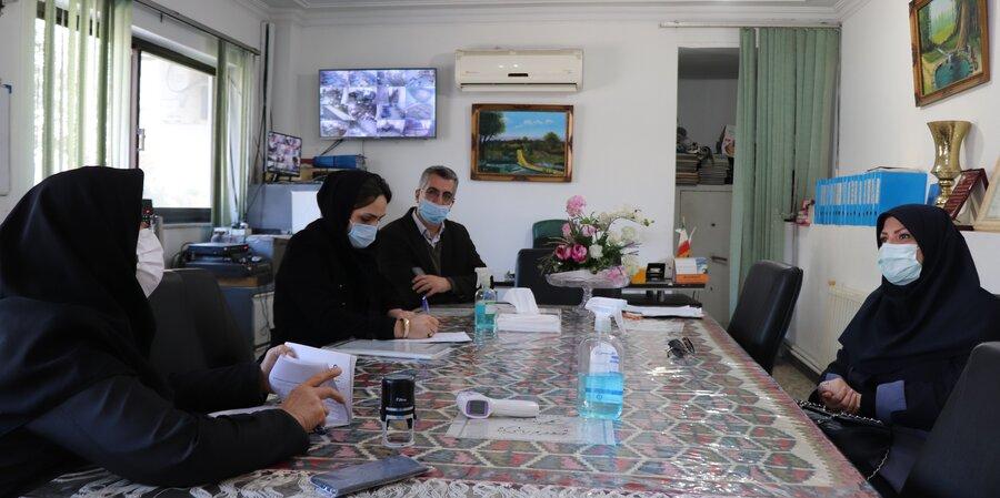 آمل   بازدید سرزده رئیس اداره بهزیستی شهرستان آمل از مراکز تحت نظارت