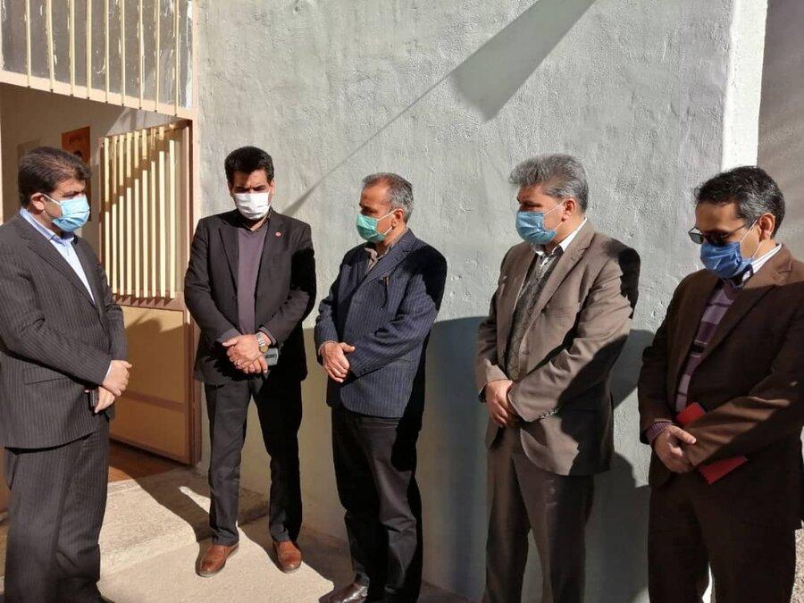 سفر  مهندس یزدان مهر به شهرستان خوسف خ ج