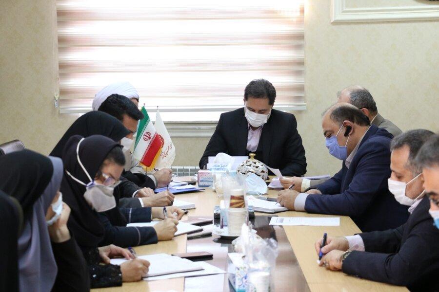 نشست شورای فرهنگی بهزیستی استان گیلان