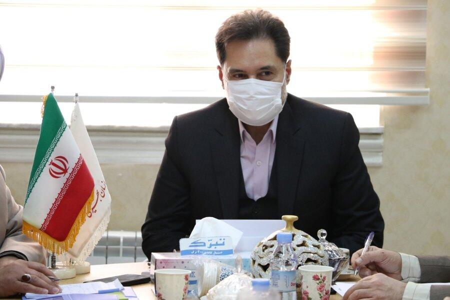 نشست کارگروه شورای فرهنگی بهزیستی استان گیلان