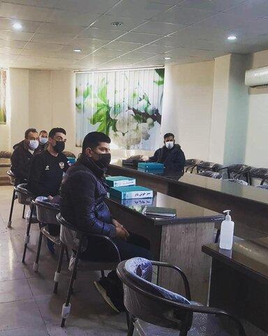 ملارد|برپایی دوره آموزشی کمک های اولیه در مراکز ترک اعتیاد