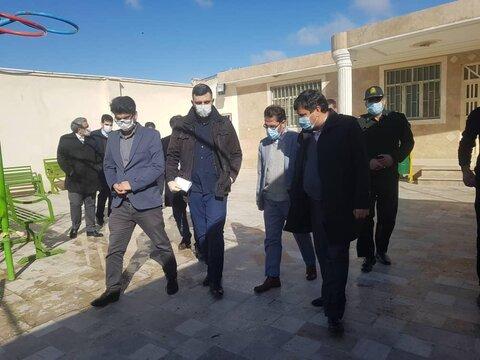 ملارد| بازدید مسئولین دادستانی از مراکز اقامتی میان مدت