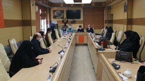 برگزاری جلسه هم اندیشی با مسولین مراکز مشاوره قم