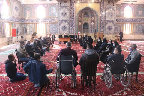گزارش تصویری| نشست مشترک معاونان بهزیستی آذربایجان شرقی با گروه های معلولان جلفا