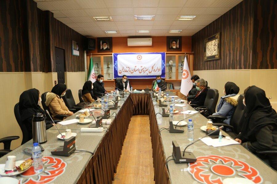 برگزاری جلسه طرح مدیریت مورد معتادان بی بضاعت در بهزیستی مازندران