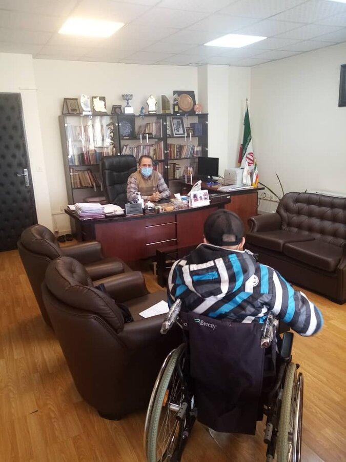 مدیرکل بهزیستی استان تهران با مددجویان و توانخواهان دیدار کرد
