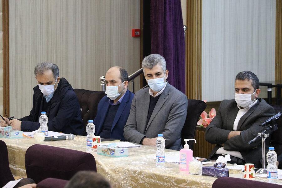 برگزاری نشست شورای اداری بهزیستی گیلان