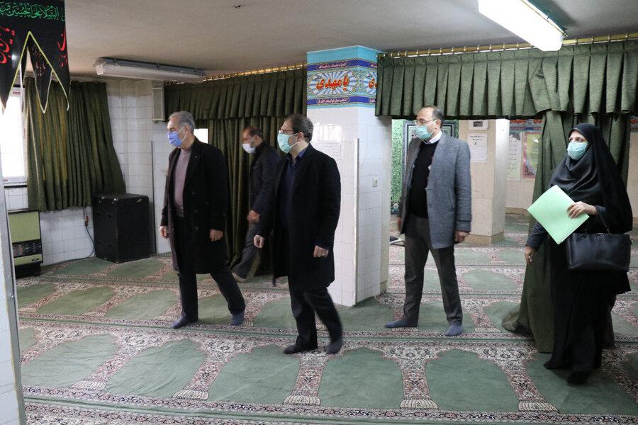 ارزیابی عملکرد فعالیتهای ستاد اقامه نماز ادارات بهزیستی آذربایجان غربی