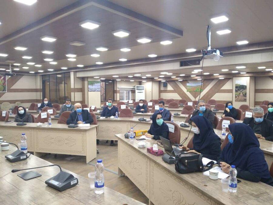 سومین جلسه شورای ساماندهی مناسب سازی در فرمانداری تالش