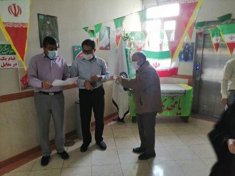 افتتاح نمایشگاه کتاب و دستاوردهای انقلاب اسلامی