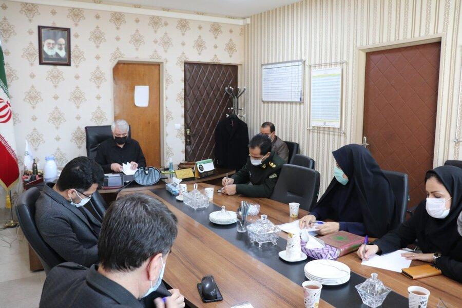 شهرقدس|برگزاری جلسه شورای هماهنگی مبارزه با مواد مخدر شهرستان