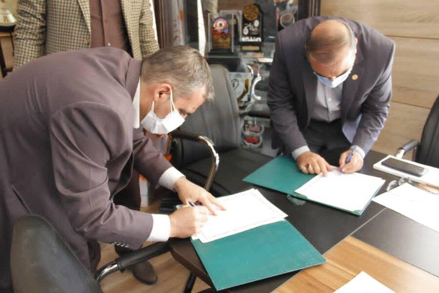 امضا تفاهم نامه مشترک بهزیستی و دانشگاه پیام نور فارس