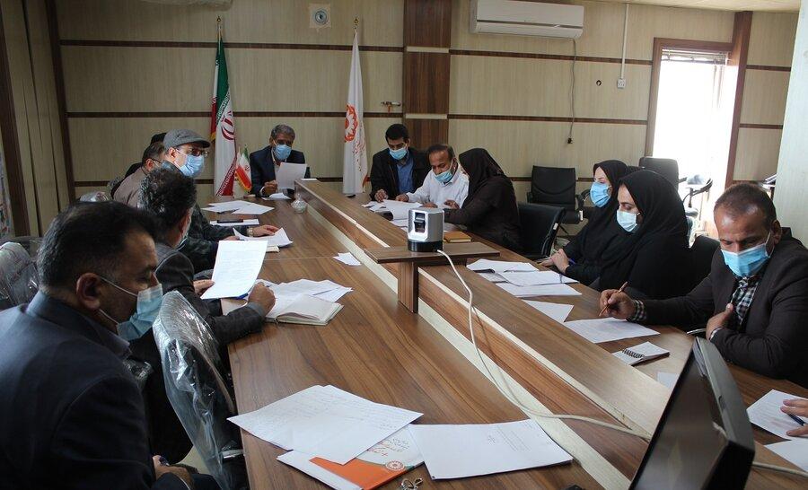 جلسه شورای معاونین بهزیستی خوزستان