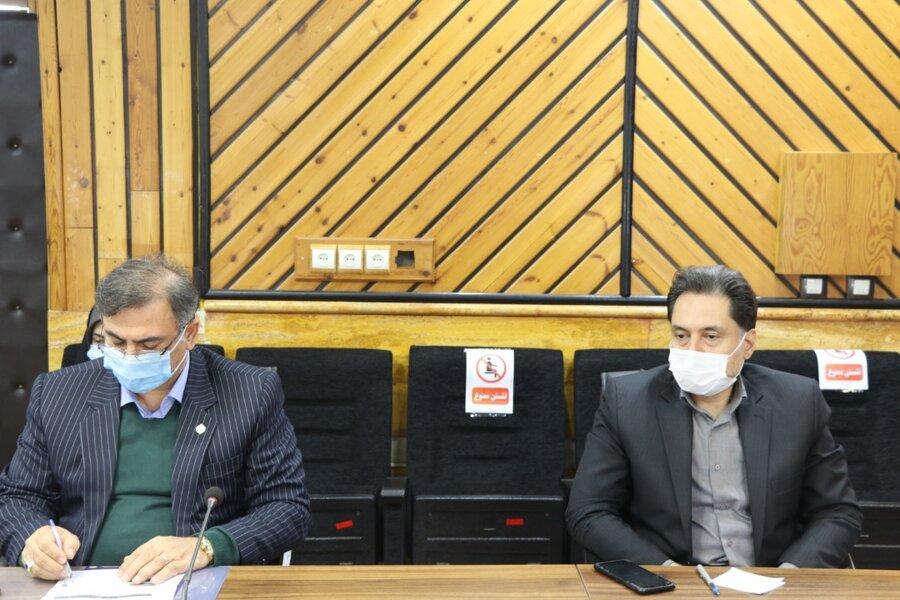 یازدهمین نشست شورای هماهنگی مدیران با محوریت بررسی ورسیدگی به مشکلات شهرستان بندرانزلی