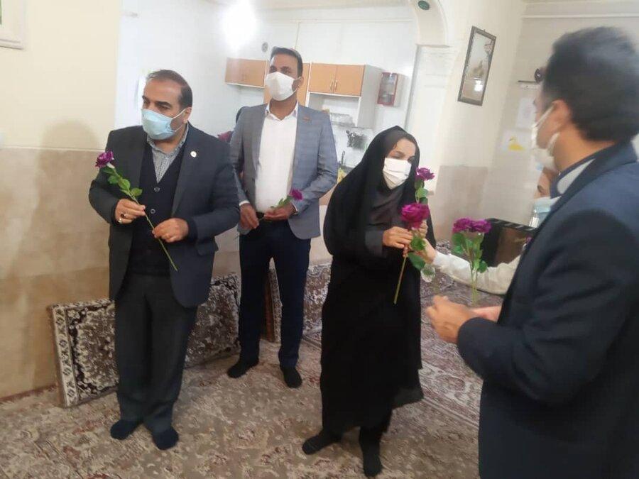 دیدار مدیر کل بهزیستی فارس با فرزندان مراکز شبه خانواده شهرستان ارسنجان