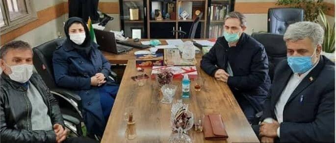 شهریار حضور مسئولان بهزیستی در اداره ورزش و جوانان شهرستان