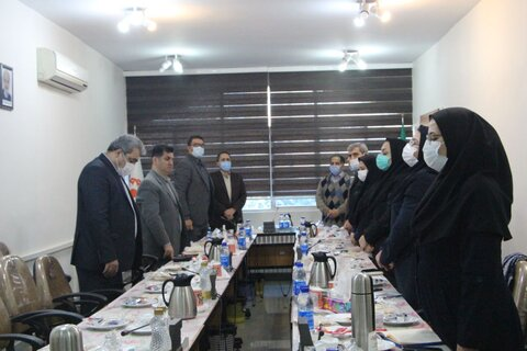 برگزاری پانزدهمین جلسه محرومیت زدایی با حضور معاون اجتماعی بهزیستی کشور و مدیرکل استان