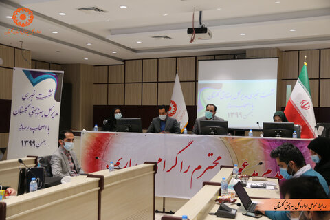 گزارش تصویری | نشست خبری مدیرکل بهزیستی گلستان