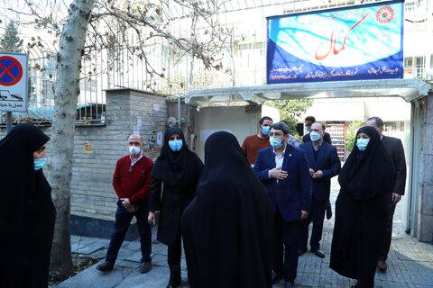 بازدید فراکسیون زنان مجلس اسلامی از مرکز سالمندان کمال به مناسبت روز زن