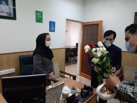 گزارش تصویری | در سالروز میلاد حضرت فاطمه زهرا (س) از بانوان شاغل در صداوسیمای مرکز استان تقدیر شد