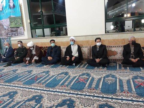 برگزاری مراسم یادواره شهیدان امام پناهی به مناسبت ایام الله دهه مبارک فجر در فومن